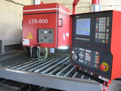 - CNC Лазерна технологична система за рязане на детайли от листов материал LTS-800