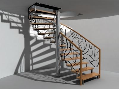 Интериорна стълба