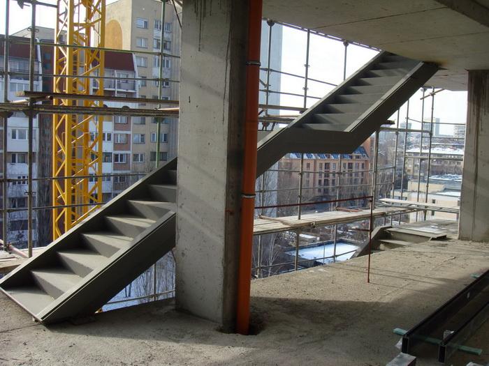 Евакуационни и сервизни стълби - Сервизна стълба