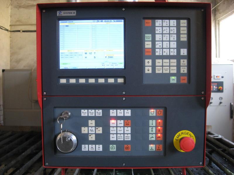 CNC Лазерна технологична система за рязане на детайли от листов материал LTS-800