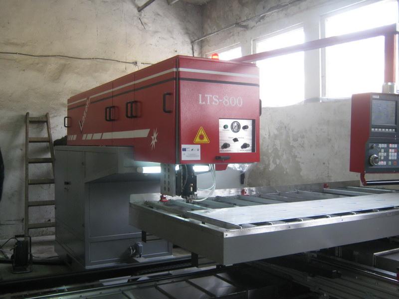 CNC Лазерна технологична система за рязане на детайли от листов материал LTS-800 - CNC Лазерна технологична система за рязане на