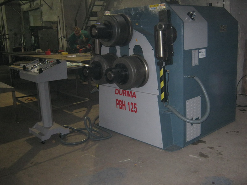 Профилоогъваща машина DURMA PBH 125 - Профилоогъваща машина DURMA PBH 125