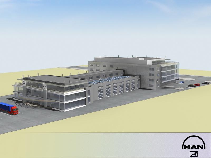 Промишлена сграда MAN