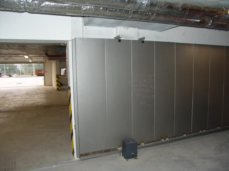 Автоматична плъзгаща врата